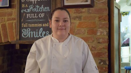 Gemma Youlden is excited to start her new job at The Volenteer Inn in Ottery. Picture: The Volentee
