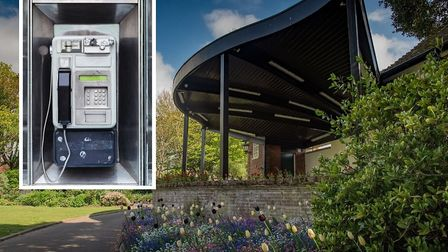 Sidmouth pay phone in Connaught Gardens could be decommissioned. Picture: Alex Walton Photgraphy/Get