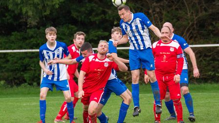 Ottery 2nds at home to Bow 2nds. Ref shsp 50 19TI 6003. Picture: Terry Ife