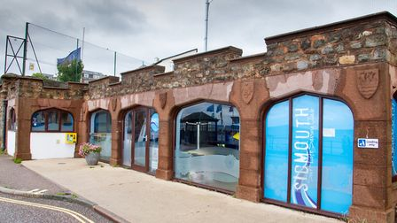 The Arches on Sidmouth esplanade. Ref shs 24 19TI 6500. Picture: Terry Ife