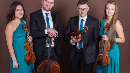 The Fitzroy Quartet. Picture: Supplied by artists