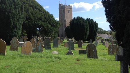 The churchyard at All Saints, East Budleigh. Picture: CPRE Devon