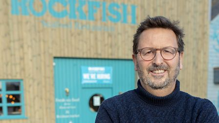 Mitch Tonks is looking forward to opening Sidmouth's Rockfish. Picture: Rockfish Seafood Restaurants