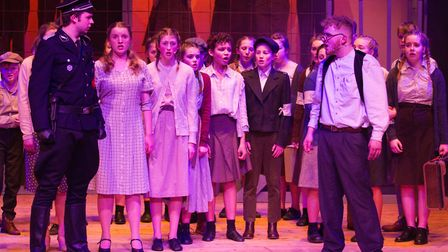Sidmouth Youth Theatre's production of korczak. Ref shs 06 20TI 7899. Picture: Terry Ife