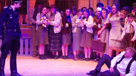 Sidmouth Youth Theatre's production of korczak. Ref shs 06 20TI 7895. Picture: Terry Ife