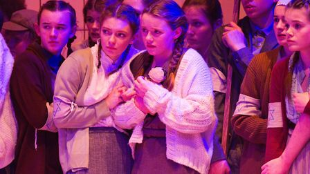Sidmouth Youth Theatre's production of korczak. Ref shs 06 20TI 7893. Picture: Terry Ife