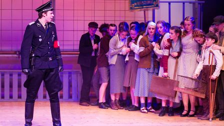 Sidmouth Youth Theatre's production of korczak. Ref shs 06 20TI 7872. Picture: Terry Ife
