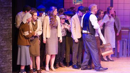 Sidmouth Youth Theatre's production of korczak. Ref shs 06 20TI 7863. Picture: Terry Ife