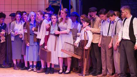 Sidmouth Youth Theatre's production of korczak. Ref shs 06 20TI 7866. Picture: Terry Ife
