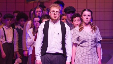 Sidmouth Youth Theatre's production of korczak. Ref shs 06 20TI 7860. Picture: Terry Ife