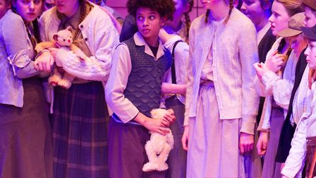 Sidmouth Youth Theatre's production of korczak. Ref shs 06 20TI 7853. Picture: Terry Ife