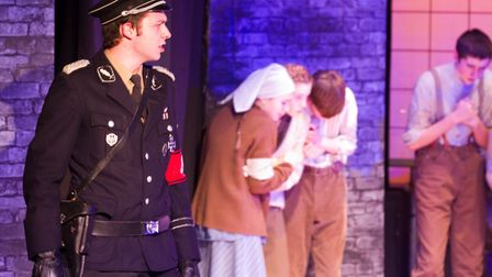 Sidmouth Youth Theatre's production of korczak. Ref shs 06 20TI 7855. Picture: Terry Ife