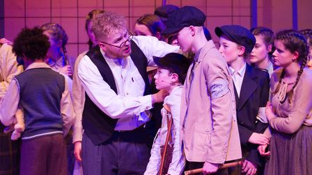 Sidmouth Youth Theatre's production of korczak. Ref shs 06 20TI 7850. Picture: Terry Ife