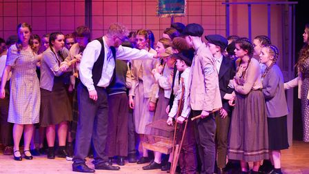 Sidmouth Youth Theatre's production of korczak. Ref shs 06 20TI 7845. Picture: Terry Ife