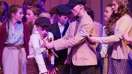 Sidmouth Youth Theatre's production of korczak. Ref shs 06 20TI 7841. Picture: Terry Ife