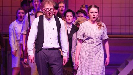 Sidmouth Youth Theatre's production of korczak. Ref shs 06 20TI 7839. Picture: Terry Ife