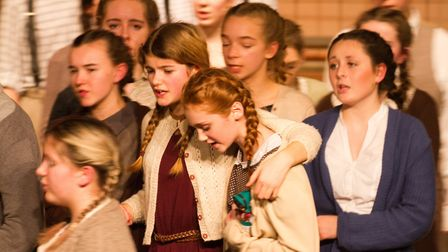 Sidmouth Youth Theatre's production of korczak. Ref shs 06 20TI 7834. Picture: Terry Ife