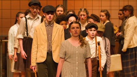 Sidmouth Youth Theatre's production of korczak. Ref shs 06 20TI 7832. Picture: Terry Ife
