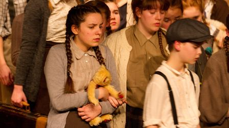 Sidmouth Youth Theatre's production of korczak. Ref shs 06 20TI 7825. Picture: Terry Ife