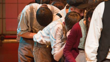 Sidmouth Youth Theatre's production of korczak. Ref shs 06 20TI 7815. Picture: Terry Ife