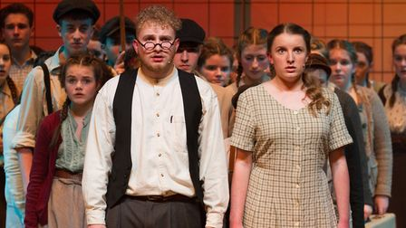 Sidmouth Youth Theatre's production of korczak. Ref shs 06 20TI 7809. Picture: Terry Ife