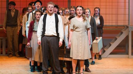 Sidmouth Youth Theatre's production of korczak. Ref shs 06 20TI 7806. Picture: Terry Ife