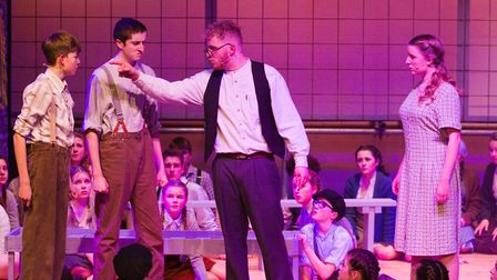 Sidmouth Youth Theatre's production of korczak. Ref shs 06 20TI 7796. Picture: Terry Ife