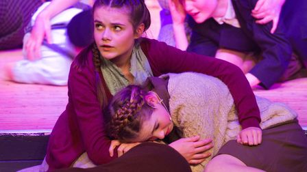 Sidmouth Youth Theatre's production of korczak. Ref shs 06 20TI 7793. Picture: Terry Ife