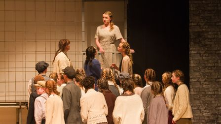 Sidmouth Youth Theatre's production of korczak. Ref shs 06 20TI 7778. Picture: Terry Ife