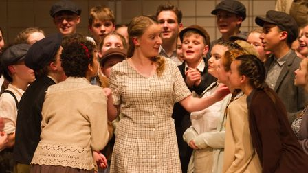 Sidmouth Youth Theatre's production of korczak. Ref shs 06 20TI 7782. Picture: Terry Ife