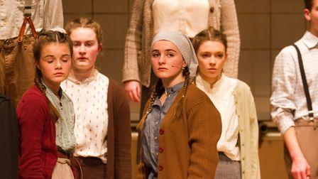 Sidmouth Youth Theatre's production of korczak. Ref shs 06 20TI 7777. Picture: Terry Ife