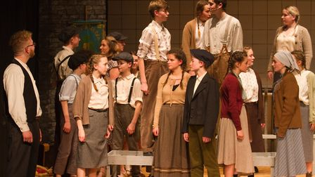 Sidmouth Youth Theatre's production of korczak. Ref shs 06 20TI 7775. Picture: Terry Ife