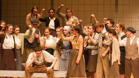 Sidmouth Youth Theatre's production of korczak. Ref shs 06 20TI 7772. Picture: Terry Ife