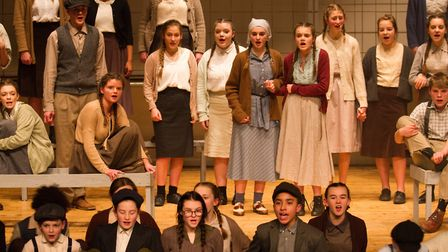 Sidmouth Youth Theatre's production of korczak. Ref shs 06 20TI 7771. Picture: Terry Ife