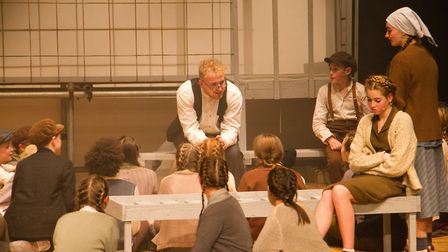Sidmouth Youth Theatre's production of korczak. Ref shs 06 20TI 7766. Picture: Terry Ife