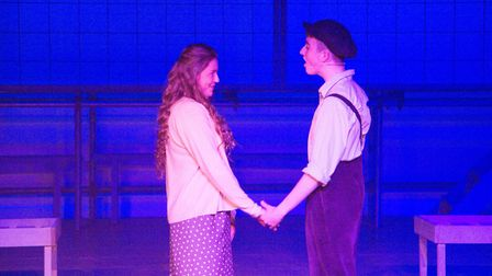 Sidmouth Youth Theatre's production of korczak. Ref shs 06 20TI 7756. Picture: Terry Ife