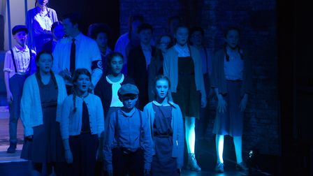 Sidmouth Youth Theatre's production of korczak. Ref shs 06 20TI 7751. Picture: Terry Ife