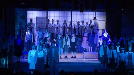 Sidmouth Youth Theatre's production of korczak. Ref shs 06 20TI 7747. Picture: Terry Ife