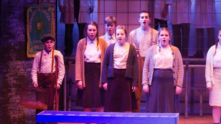 Sidmouth Youth Theatre's production of korczak. Ref shs 06 20TI 7745. Picture: Terry Ife