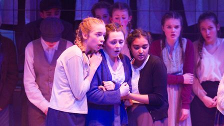 Sidmouth Youth Theatre's production of korczak. Ref shs 06 20TI 7743. Picture: Terry Ife