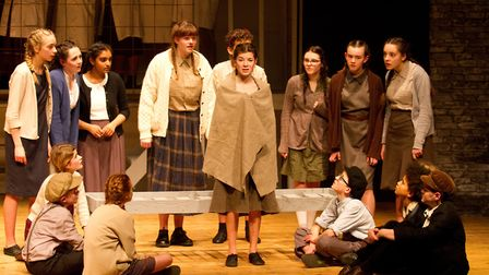 Sidmouth Youth Theatre's production of korczak. Ref shs 06 20TI 7735. Picture: Terry Ife