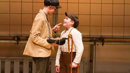 Sidmouth Youth Theatre's production of korczak. Ref shs 06 20TI 7712. Picture: Terry Ife