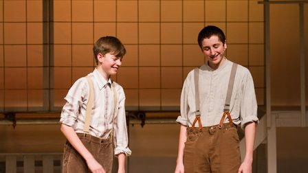 Sidmouth Youth Theatre's production of korczak. Ref shs 06 20TI 7679. Picture: Terry Ife