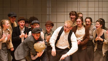 Sidmouth Youth Theatre's production of korczak. Ref shs 06 20TI 7675. Picture: Terry Ife