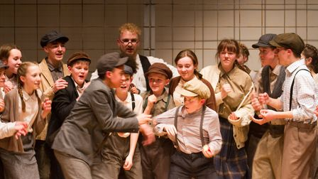 Sidmouth Youth Theatre's production of korczak. Ref shs 06 20TI 7672. Picture: Terry Ife
