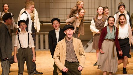 Sidmouth Youth Theatre's production of korczak. Ref shs 06 20TI 7666. Picture: Terry Ife