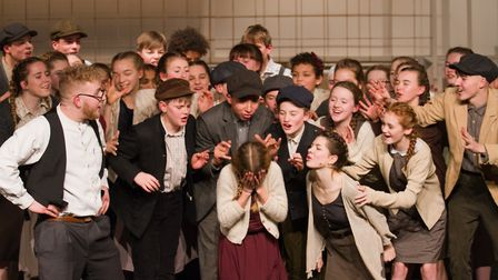 Sidmouth Youth Theatre's production of korczak. Ref shs 06 20TI 7668. Picture: Terry Ife
