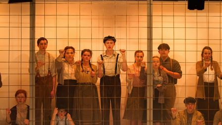 Sidmouth Youth Theatre's production of korczak. Ref shs 06 20TI 7657. Picture: Terry Ife