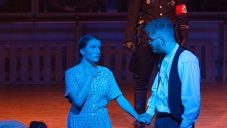 Sidmouth Youth Theatre's production of korczak. Ref shs 06 20TI 7648. Picture: Terry Ife