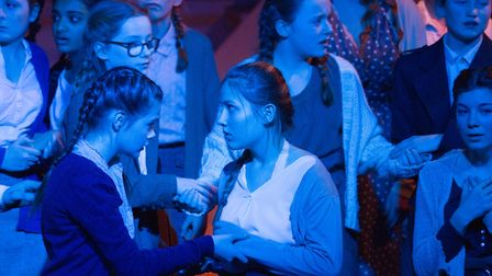 Sidmouth Youth Theatre's production of korczak. Ref shs 06 20TI 7644. Picture: Terry Ife